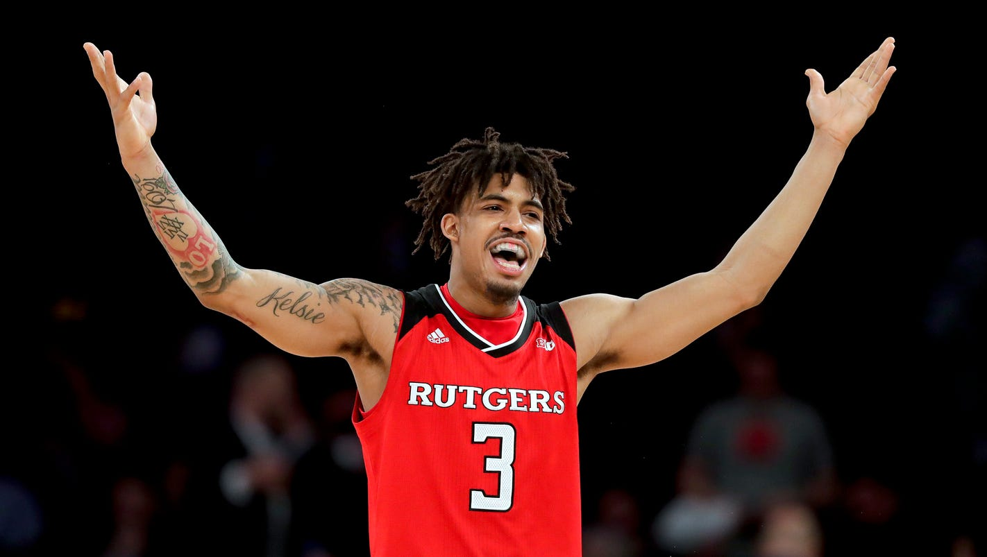 Thursday's college basketball: Rutgers upsets Indiana in Big Ten tournament