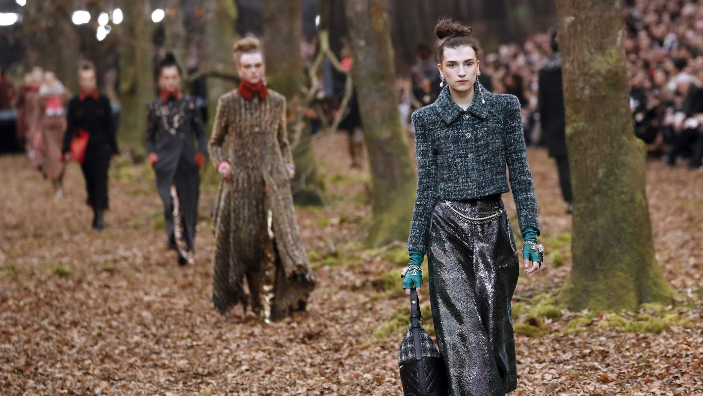 Chanel sparks outrage by felling 100-year-old trees at Paris Fashion Week