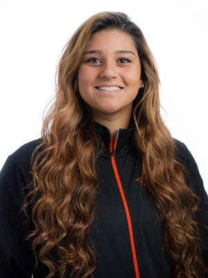 Oregon State's Meehra Nelson is one of the premier freshman pitchers in college softball.