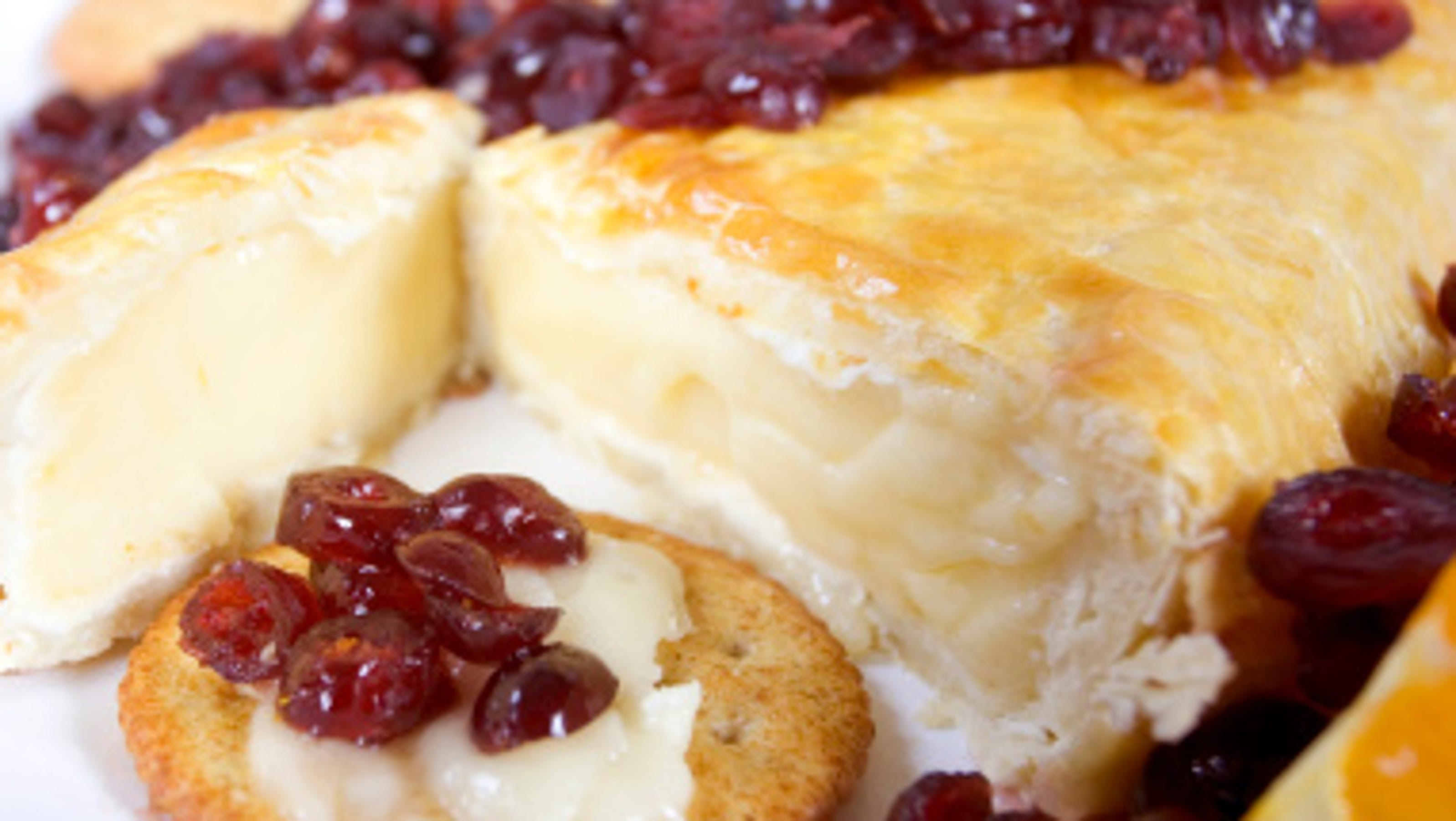 Baked Brie + Raspberry Preserves Recipe — Dishmaps