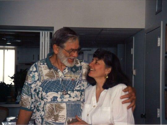 "Robert ""Nic"" Nicholson and his wife Fran Nicholson"