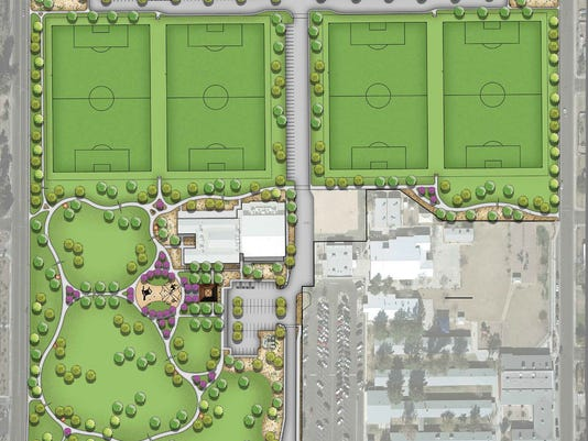 Mesa Eagles Park rendering