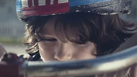 Nationwide issues sad commercial during Super Bowl XLIX.