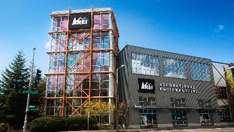 An REI story in Seattle.