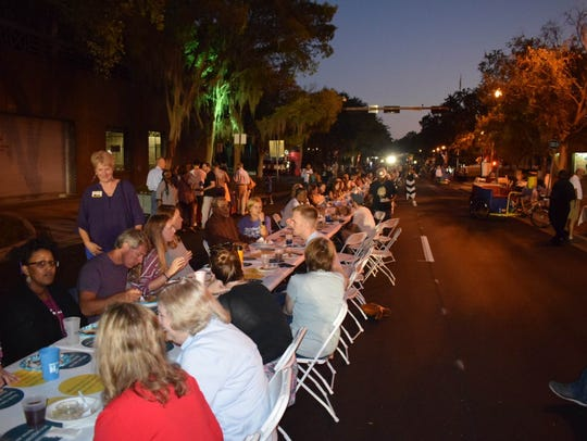 The Longest Table Tallahassee