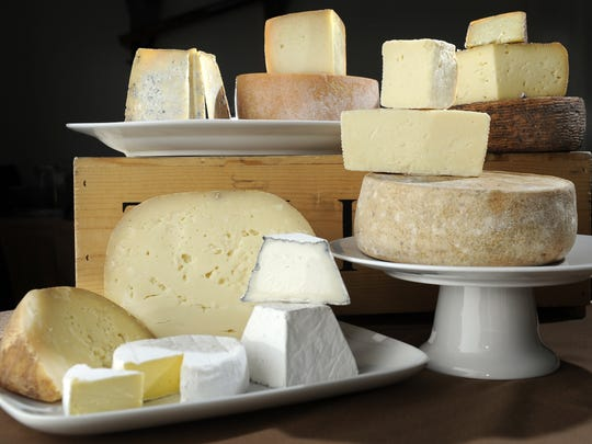 Cheeses of all tastes and textures will be available at the Southern Artisan Cheese Festival. This is a sampling from just five of the cheese makers that attended in years past.