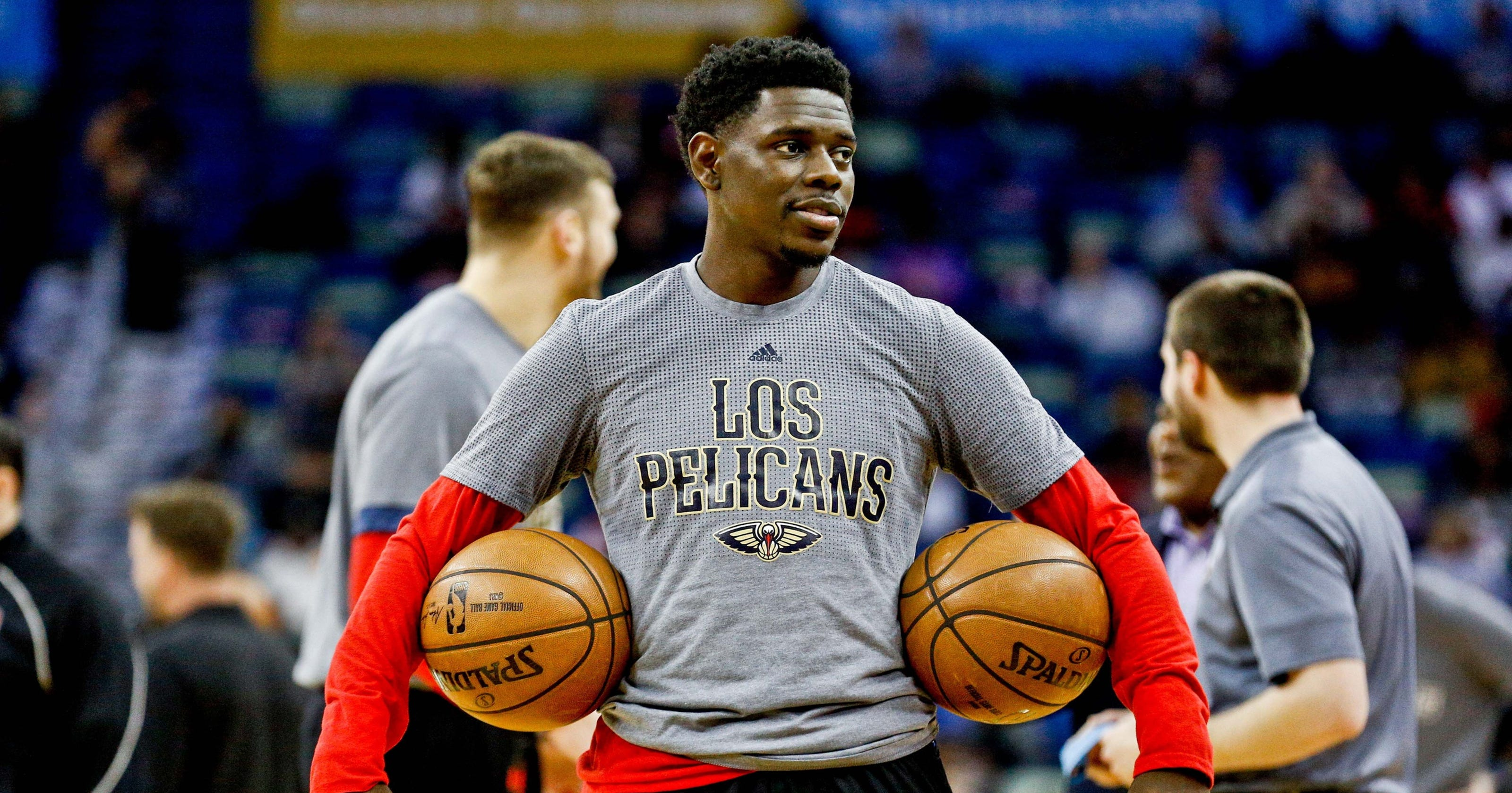 Jrue Holiday explains why his wife is his hero