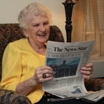 Violet Duffey is a loyal reader of The News-Star.