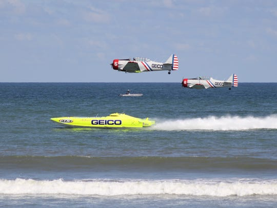 The GEICO Skytypers team will race the eight-time world