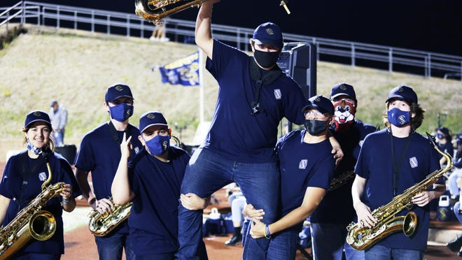 The Stephenville High School Band's Section of the Week for last Friday's game in Brownwood was the Low Reeds.