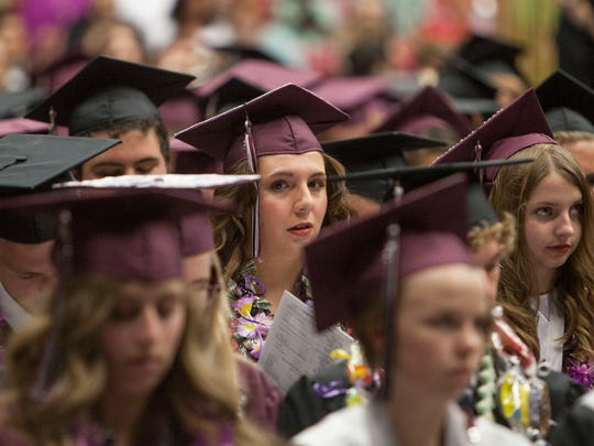 Pine View High School celebrates its 2016 graduating class Wednesday, May 25, 2016.
