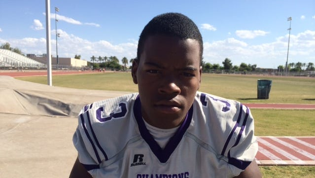 Hamilcar Rashed Jr. made All-Arizona last season as a junior on defense after recording 20 sacks, 10 of which came against winless Phoenix Maryvale.