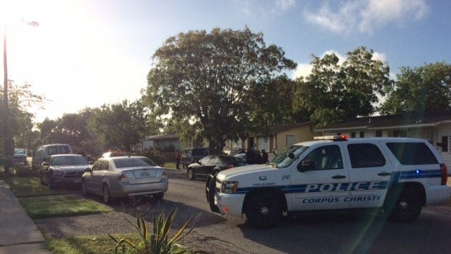 A man and a woman were taken to the hospital after a shooting in the 1600 block of Sycamore Place.