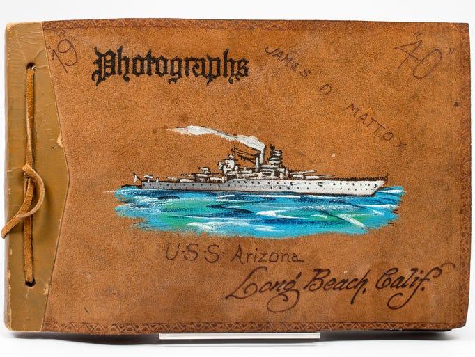 USS Arizona crew member James Mattox, 22, created this