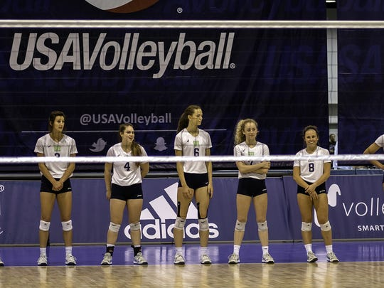 Ziva volleyball from Wichita Falls takes the court