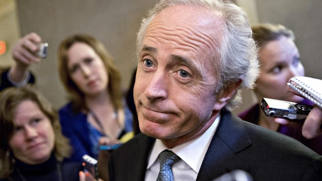 Sen. Bob Corker, R-Tenn., is hardly the only Republican lambasting President Donald Trump and raising dark concerns about harm the president might cause the U.S. and the world. He's just the only one doing so publicly.