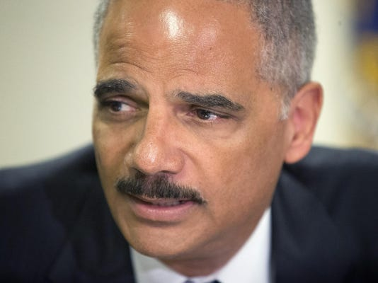 FILE: Attorney General Eric Holder Resigns National Guard Called In As Unrest Continues In Ferguson