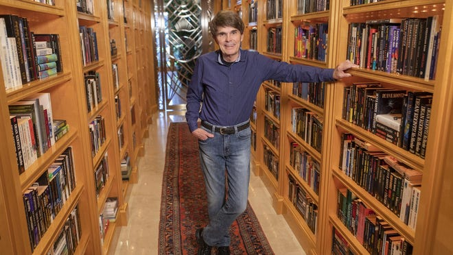 "Dean Koontz, who is out with his 78th book called ""Elsewhere."""