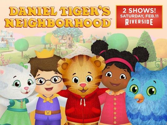 Daniel the Tiger Live