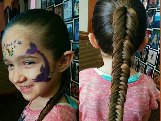Miraculous Surprising Person Behind Girl39S Amazing Hairstyles Hairstyle Inspiration Daily Dogsangcom