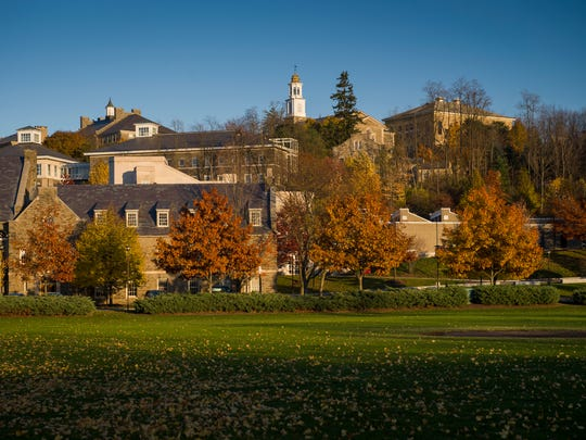 The Colgate campus
