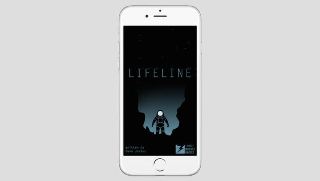 Lifeline is a simple, text-based app that features an immersive storyline.