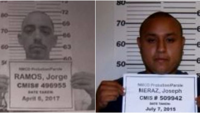 Jorge Ramos and Joseph Meraz
