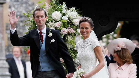 Pippa Middleton married James Matthews at St Mark's Church on May 20, 2017 in Englefield, England.