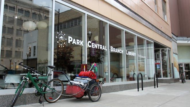 Park Central Branch Library is shown in a 2015 News-Leader file photo.