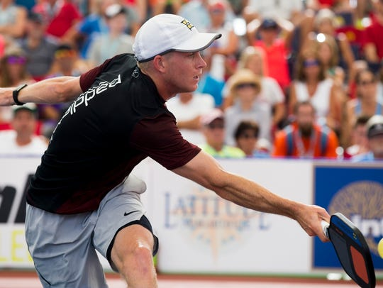 Fort Myers local Kyle Yates plays in the men's Pro