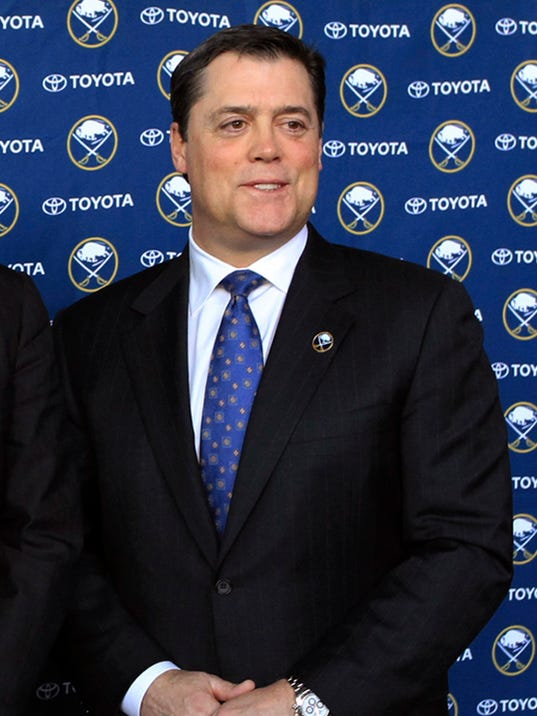 Sabres LaFontaine Resigns Hockey