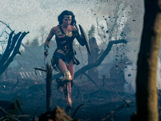 "GAL GADOT as Diana in the action adventure ""WONDER"