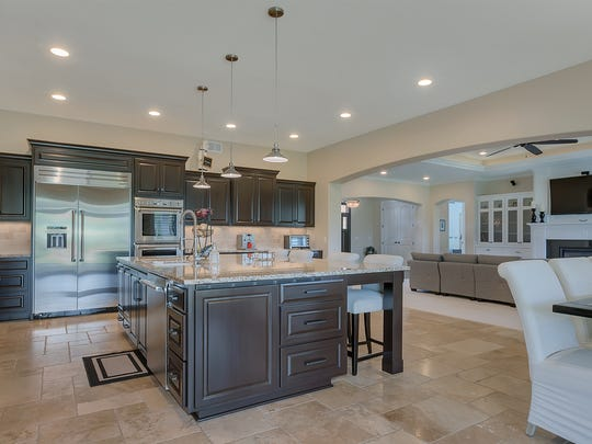 A well-equipped kitchen makes meal prep fun at 21096 Westbrook Drive, Cold Spring.