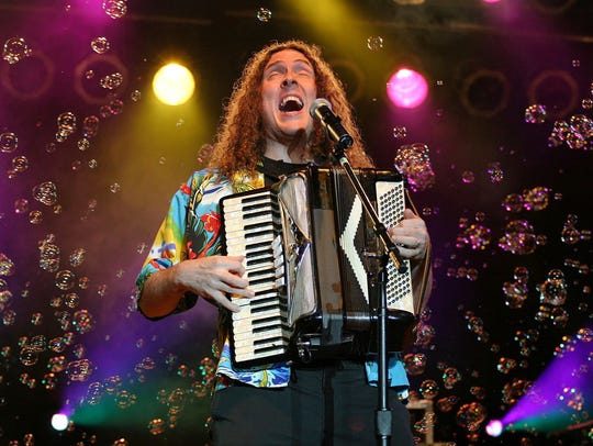 Weird Al Yankovic seen performing in St. Louis