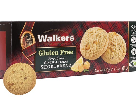 Walkers Shortbread Gluten Free Ginger Lemon