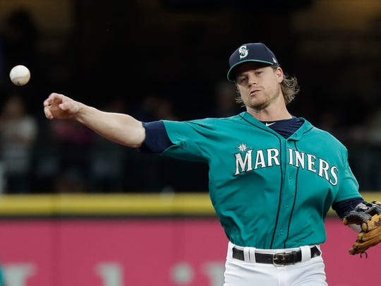 Gordon Beckham has been filling in as the Mariners'