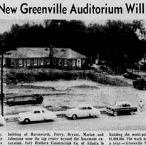 Greenville's Memorial Auditorium was once the city's favorite venue