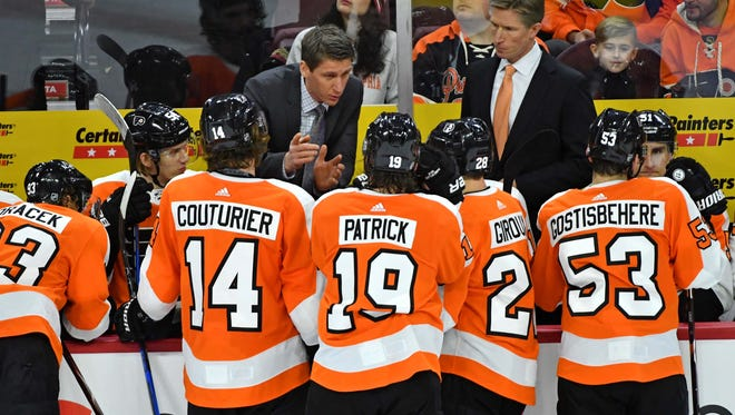 The Flyers came into Thursday winless in their last four games.
