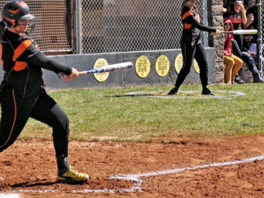 The Capitan Lady Tigers saw an early end to its post-season play in a surprising loss to Pecos High, May 13.