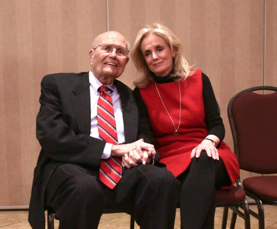 U. S. Uncover. John Dingell, 87, and his wife Debbie Dingell