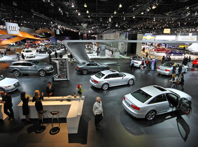 The South Hall is filled with newly released versions of vehicles as well as the newer versions of some tried and true favorites.