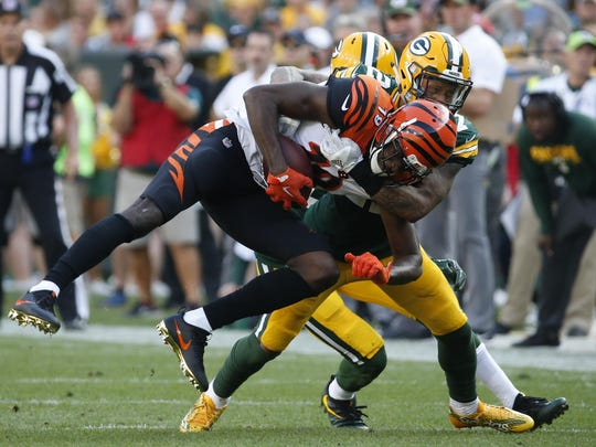 Josh Jones has provided a spark for the Green Bay Packers as an inside linebacker in the nitro package.