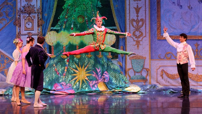 The Moscow Ballet performs their 'Great Russian Nutcracker.'