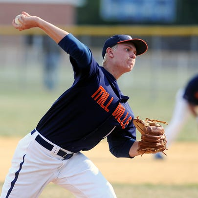 Former Millville star Aaron Cox, shown here in 2012,