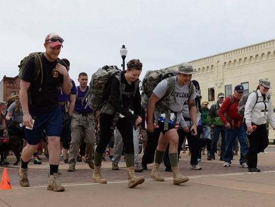"""The Third Annual """"Reeder's Ruck March"""" will begin at"""
