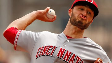 Cincinnati Reds pitcher Tim Adlerman delivers during the first inning of a baseball game against the Pittsburgh Pirates in Pittsburgh, Sunday, May 1, 2016.