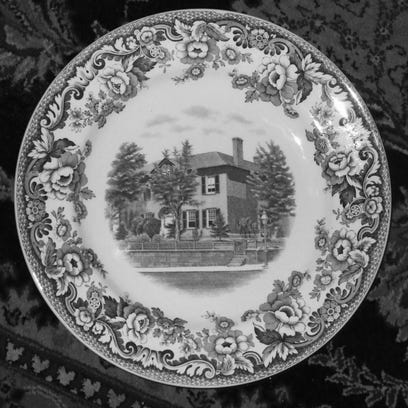 Ewing house plate