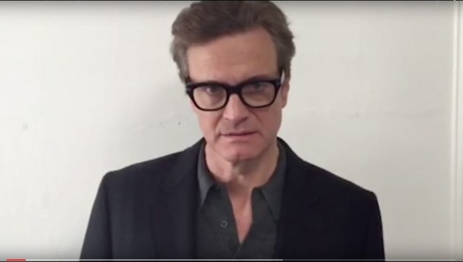 Colin Firth is one of many celebrities in a new UN video about the difference between refugees and migrants.