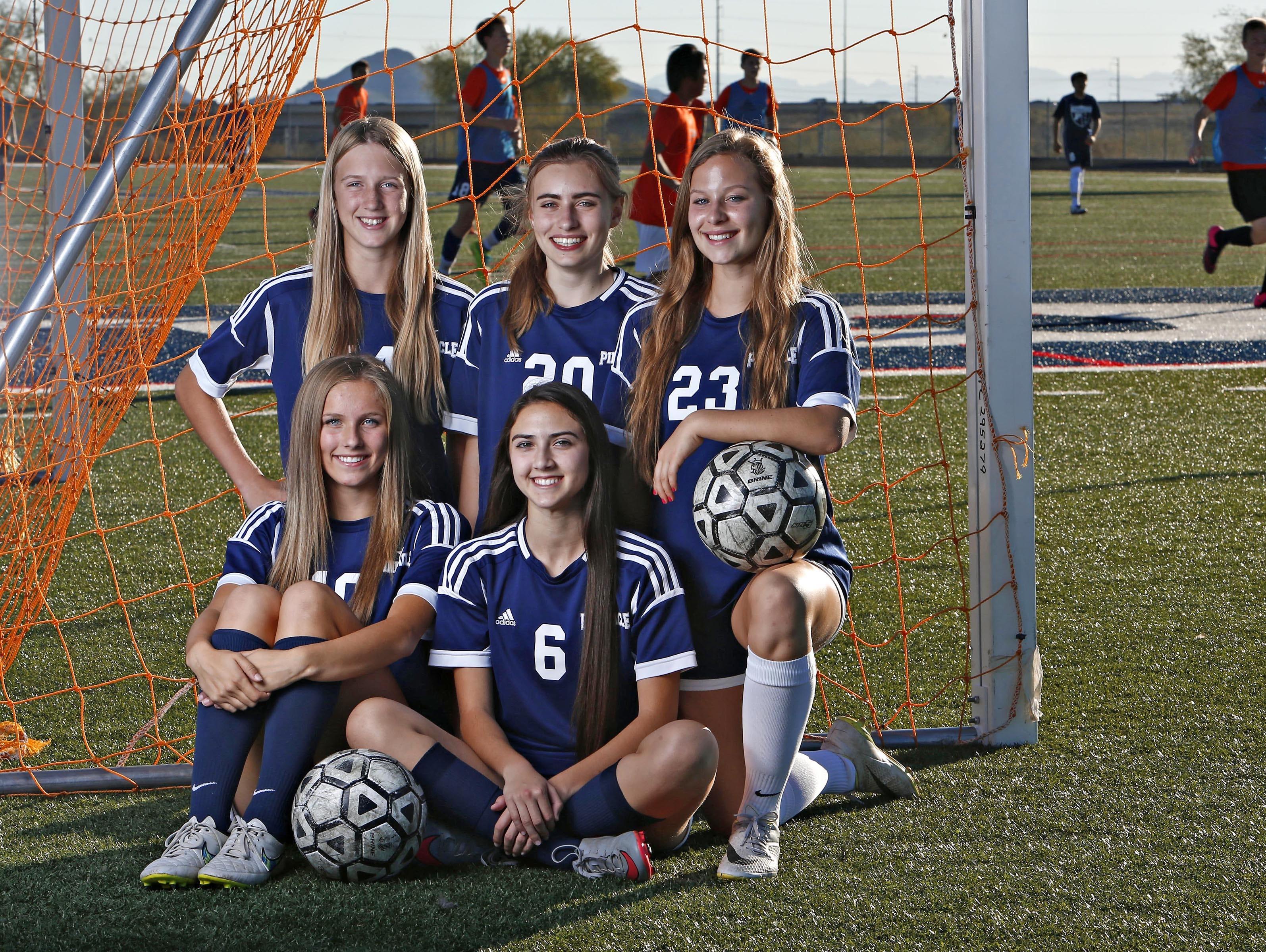 The Pinnacle girls soccer team has big aspirations again this season.