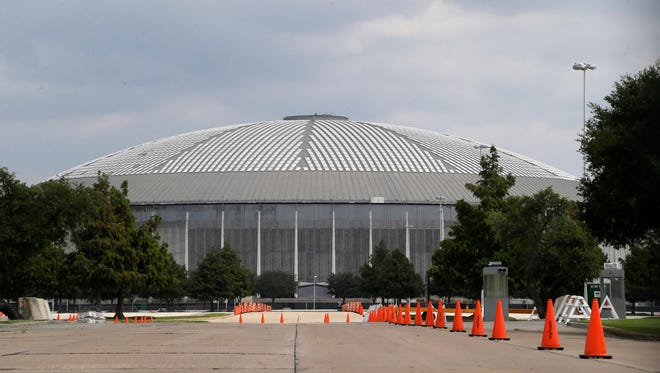 The Astrodome is due to receive a makeover and become a parking garage and convention center.